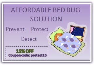 Save on bedbug products with coupon Protect15